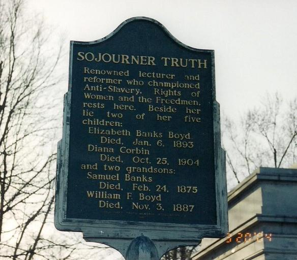 sojourner truth writings