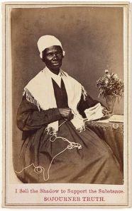 Sojourner Truth carte de visite