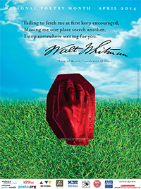 National Poetry Month Poster, www.poets.org
