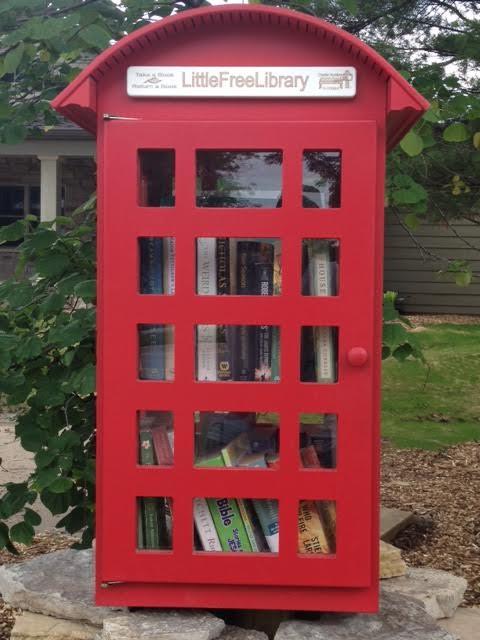 Little Free Library, Coralville, Iowa